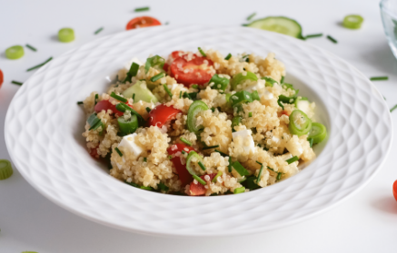 Recept - Svieži bylinkový šalát Tabbouleh s quinoou