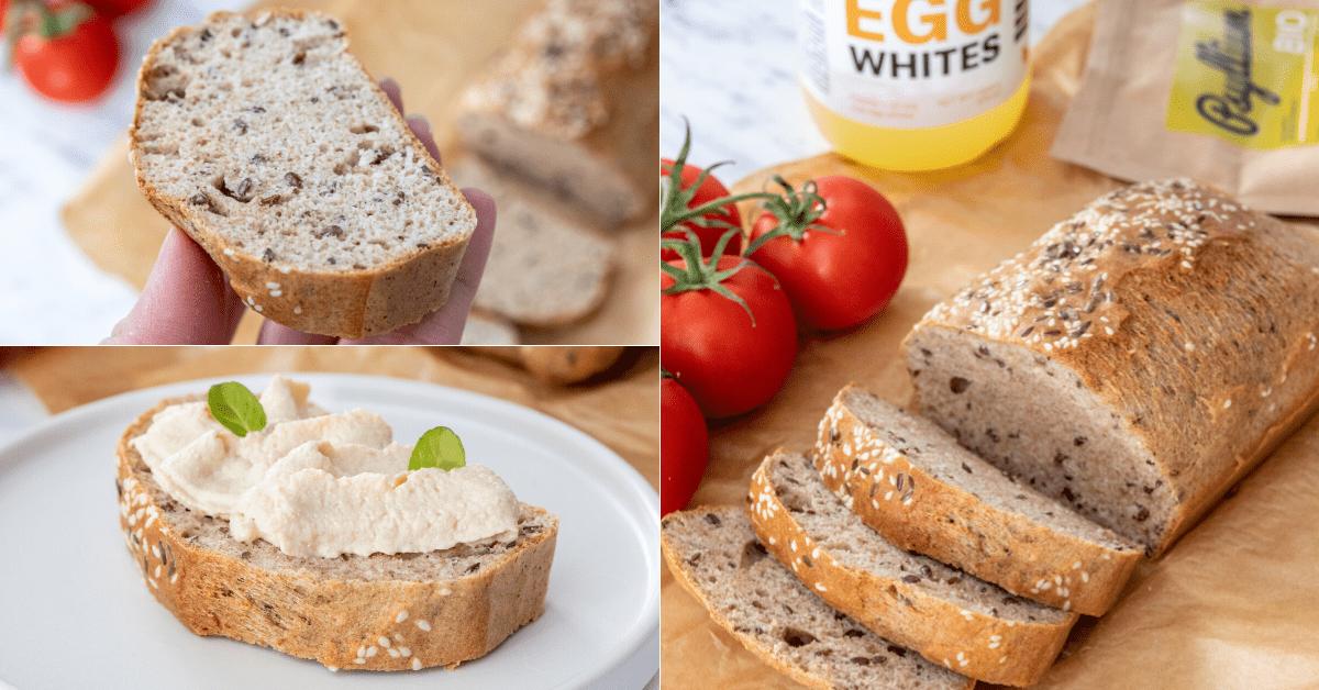 Fitnessrezept: Knuspriges Brot voller Ballaststoffe und Protein